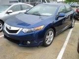 2010 Vortex Blue Pearl Acura TSX Sedan #28802346