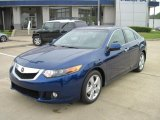 2010 Vortex Blue Pearl Acura TSX Sedan #28802349