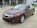 2010 Basque Red Pearl Acura TSX Sedan #28802350