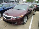 2010 Basque Red Pearl Acura TSX Sedan #28802351