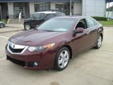 2010 Basque Red Pearl Acura TSX Sedan #28802352
