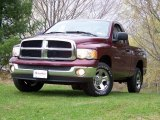 2003 Dark Garnet Red Pearl Dodge Ram 1500 SLT Regular Cab 4x4 #28802515