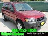 2006 Redfire Metallic Ford Escape XLS #28802164
