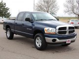 2006 Patriot Blue Pearl Dodge Ram 1500 SLT Quad Cab 4x4 #28801900