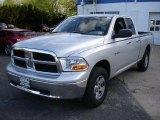 2009 Bright Silver Metallic Dodge Ram 1500 SLT Quad Cab 4x4 #28802031