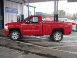 2008 Victory Red Chevrolet Silverado 1500 LT Regular Cab 4x4 #28802735