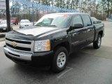 2009 Black Chevrolet Silverado 1500 LT Crew Cab 4x4 #28802736