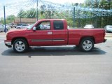 2006 Victory Red Chevrolet Silverado 1500 LT Extended Cab #28802749