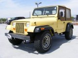 Malibu Yellow Jeep Wrangler in 1992