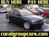 2002 Orient Blue Metallic BMW 3 Series 325i Sedan #28802803