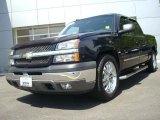 2005 Dark Blue Metallic Chevrolet Silverado 1500 LS Crew Cab #28874643