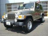 2006 Light Khaki Metallic Jeep Wrangler Unlimited 4x4 #28874647