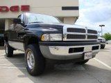 Black Dodge Ram 1500 in 1999