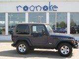 2006 Midnight Blue Pearl Jeep Wrangler Rubicon 4x4 #28874805