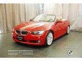2007 Crimson Red BMW 3 Series 328i Convertible #28874522