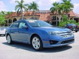 2010 Sport Blue Metallic Ford Fusion SE #28874685