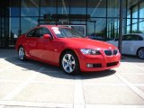 2007 Crimson Red BMW 3 Series 328xi Coupe #28874820