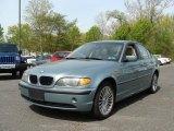 2003 Grey Green Metallic BMW 3 Series 325xi Sedan #28875002