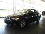 2007 Jet Black BMW 3 Series 328xi Coupe #28874719