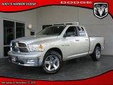 2010 Light Graystone Pearl Dodge Ram 1500 Big Horn Quad Cab #28874566