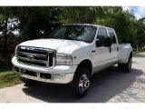 2005 Oxford White Ford F350 Super Duty Lariat Crew Cab 4x4 Dually #28874858