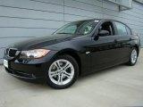 2008 Jet Black BMW 3 Series 328xi Sedan #28874569