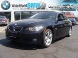 2009 Jet Black BMW 3 Series 328xi Coupe #28874576