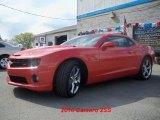 2010 Inferno Orange Metallic Chevrolet Camaro SS/RS Coupe #28874583