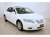 2008 Super White Toyota Camry LE #28875221