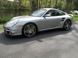 2007 GT Silver Metallic Porsche 911 Turbo Coupe #28874590