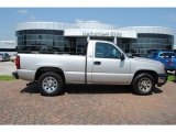 2006 Silver Birch Metallic Chevrolet Silverado 1500 LS Regular Cab #28875096