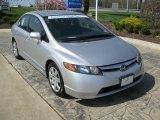 2007 Alabaster Silver Metallic Honda Civic LX Sedan #28875233
