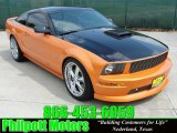 2007 Grabber Orange Ford Mustang GT Premium Coupe #28874880