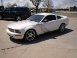 2005 Performance White Ford Mustang V6 Deluxe Coupe #28875283
