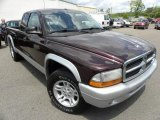 2004 Deep Molten Red Pearl Dodge Dakota SLT Club Cab #28874913