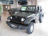 2010 Black Jeep Wrangler Sport 4x4 #28875337