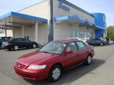 2002 Firepepper Red Pearl Honda Accord LX V6 Sedan #28875352