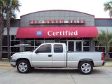 Silver Birch Metallic Chevrolet Silverado 1500 in 2005