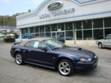 2002 True Blue Metallic Ford Mustang GT Convertible #28936699