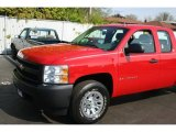 2008 Victory Red Chevrolet Silverado 1500 LT Extended Cab #28936554