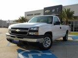 2006 Summit White Chevrolet Silverado 1500 Work Truck Regular Cab #28936561
