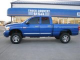 Electric Blue Pearl Dodge Ram 3500 in 2008