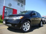 2007 Super Black Nissan Murano S AWD #28936885