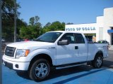 2010 Oxford White Ford F150 STX SuperCab 4x4 #28936570