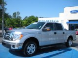 2010 Ingot Silver Metallic Ford F150 XLT SuperCrew #28936573