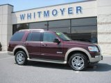 2006 Dark Cherry Metallic Ford Explorer Eddie Bauer 4x4 #28937082
