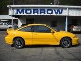 2002 Yellow Chevrolet Cavalier LS Sport Coupe #28936582