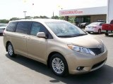 2011 Sandy Beach Metallic Toyota Sienna XLE #28936942