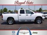 2008 Bright White Dodge Ram 1500 SLT Quad Cab 4x4 #28936463