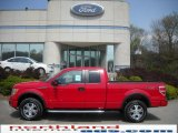 2010 Vermillion Red Ford F150 FX4 SuperCab 4x4 #28936478